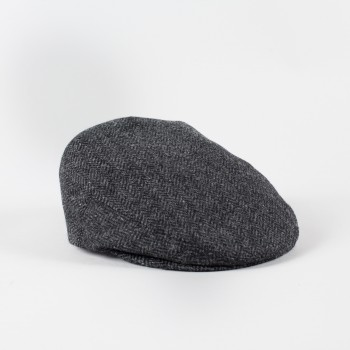 Herringbone Glen Cap  : Grey