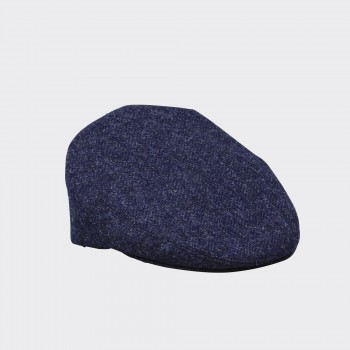 Herringbone Glen Cap : Navy