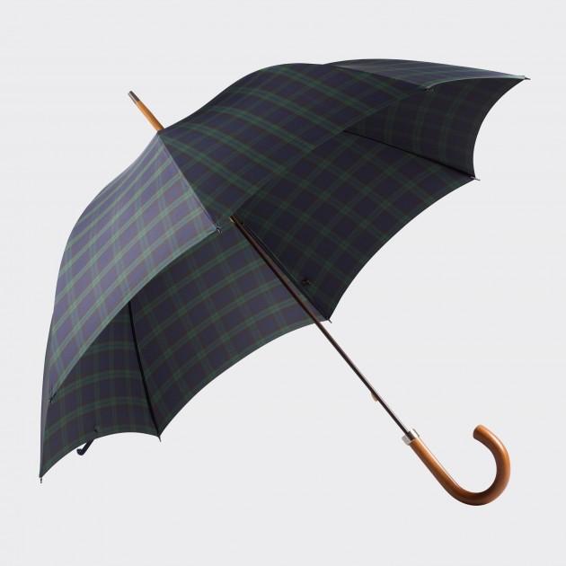 Parapluie Malacca: Black Watch Tartan