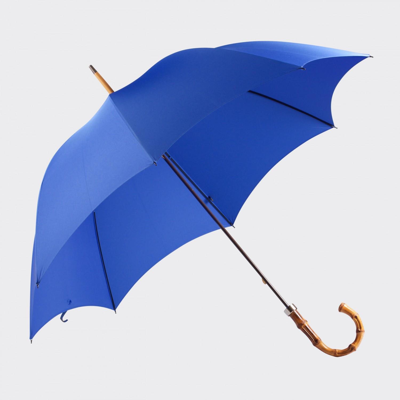 whangee umbrella royal blue beige habilleur. Black Bedroom Furniture Sets. Home Design Ideas