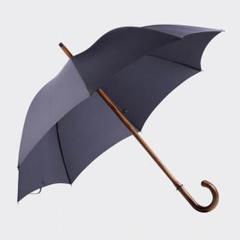One-piece Oak Umbrella : Dark Blue