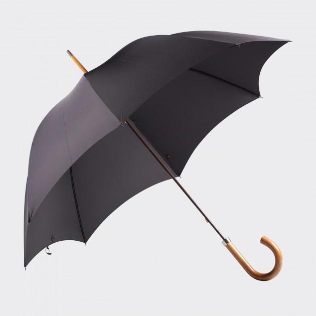 Parapluie Malacca: Noir