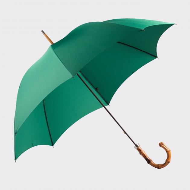 Parapluie Bambou: Vert  Emeraude