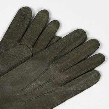 Peccary Gloves : Green
