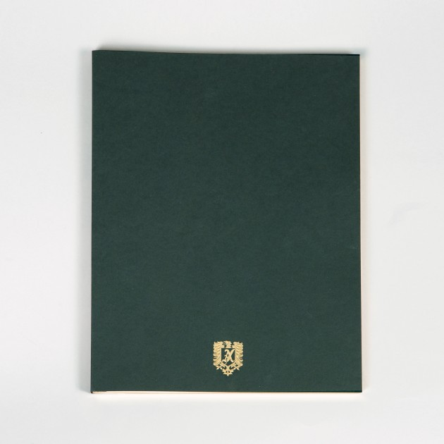 Note Pad : Vert Anglais