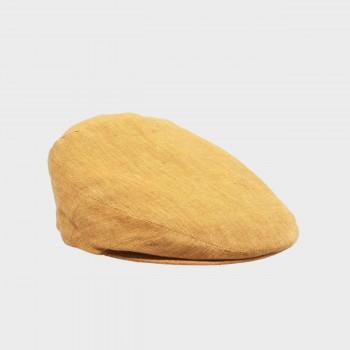 Linen Glen Cap: Straw