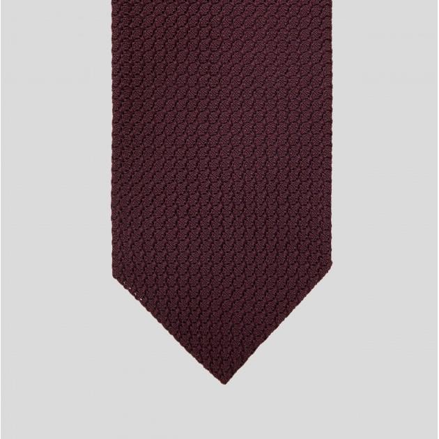 Grenadine Tie: Burgundy