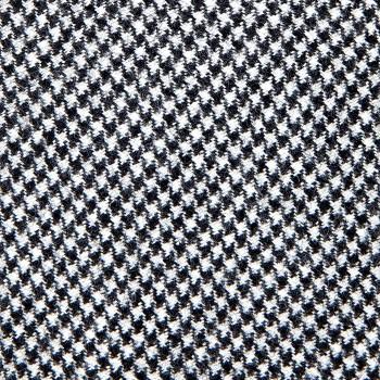 Cravate Petit Pied-de-Poule Laine/Cachemire : Gris