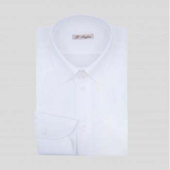 Chemise Tab Collar : Blanc