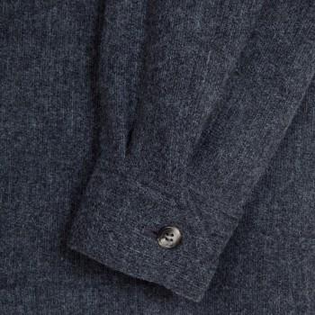 Boiled Wool Teba Jacket : Grey