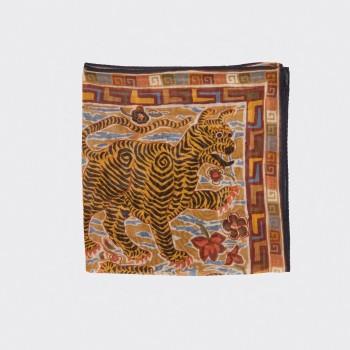 Pochette Coton, Modal Cachemire : Jaune/Orange