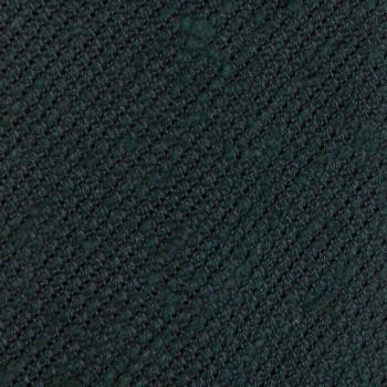 Cravate Grenadine Soie Shantung :  Vert foncé