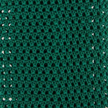 Cravate Soie Tricotée Soie : Vert