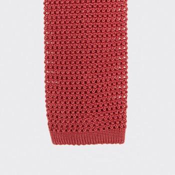 Cravate Soie Tricotée Soie : Grenadine