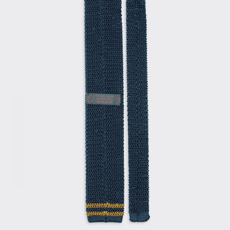 sozzi calze cravate tricot e ivy en soie bleu. Black Bedroom Furniture Sets. Home Design Ideas