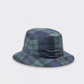 Reversible Waterproof Bucket Hat : Blackwatch/Navy