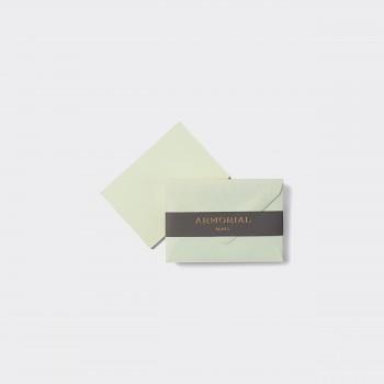 Cartes Et Enveloppes Assorties Petit Format : Pistache