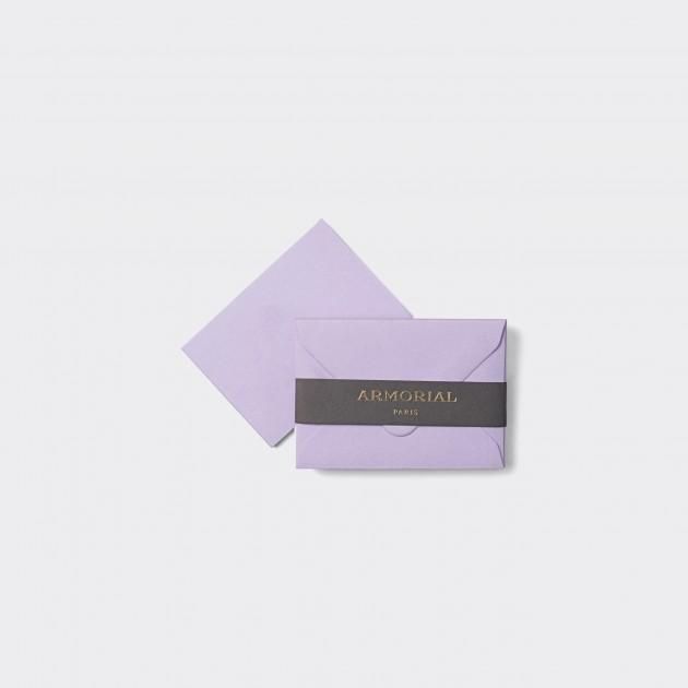 Cartes Et Enveloppes Assorties Petit Format : Lavande
