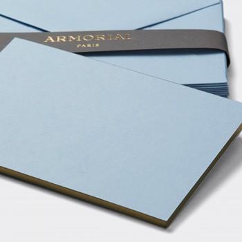 Cartes Et Enveloppes Assorties : Bleu Azur