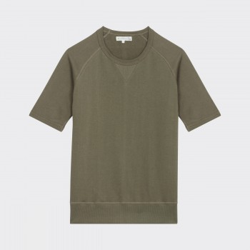 Sweat Manches Courtes 347 : Olive
