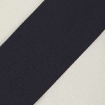 Cravate Club Soie : Marine/Blanc
