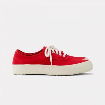 "Chaussures De Sport ""Oxford"" : Rouge"