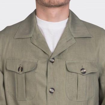 Safari Jacket Lin : Kaki