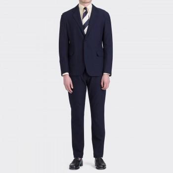 Pantalon Coton Mélange : Marine
