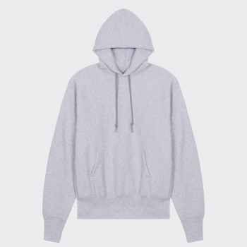 Hooded Sweatshirt : Heather Grey