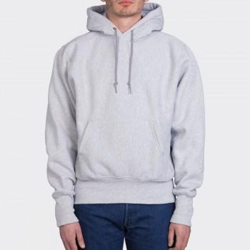 Sweatshirt Capuche :Gris Chiné
