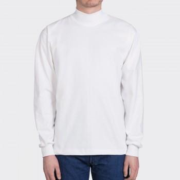 T-shirtCol Cheminée: Blanc