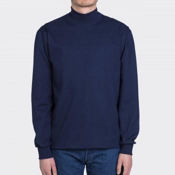 T-shirtCol Cheminée: Marine