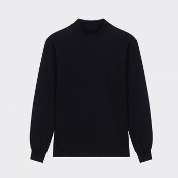 T-shirtCol Cheminée:Noir