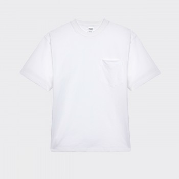 Pocket T-shirt : White