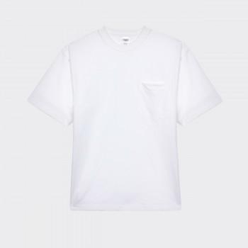 T-shirt Poche : Blanc