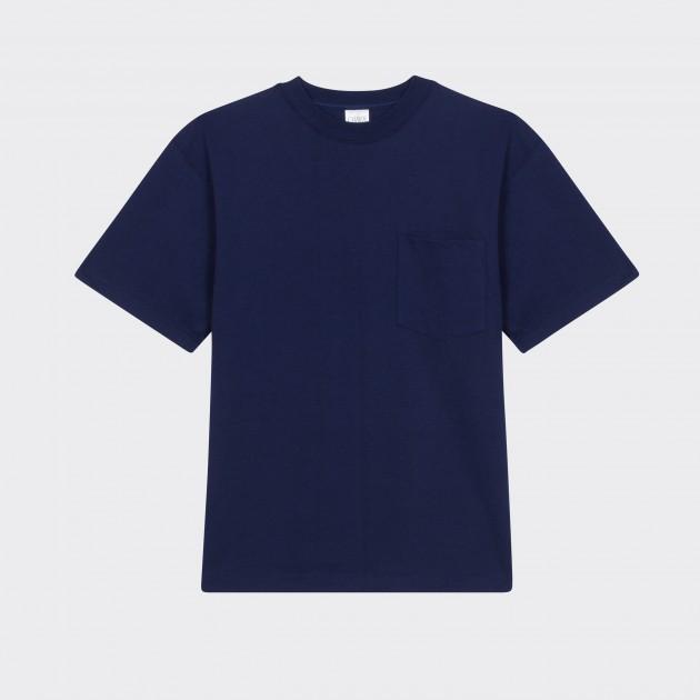 T-shirt Poche : Marine