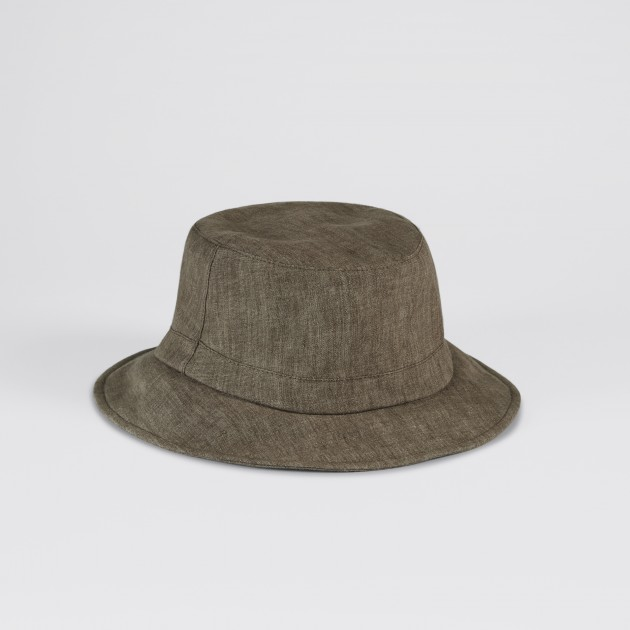 Lock   Co   Linen Bucket Hat   Brown 3c72d68b417