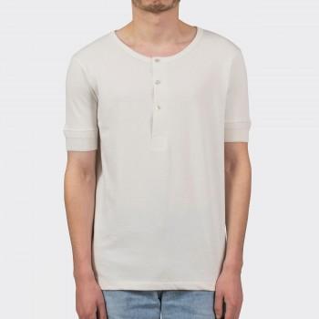 T-shirt Henley 207 : Ecru