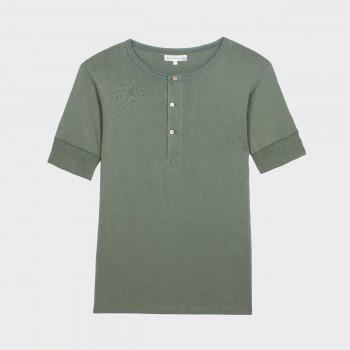 T-shirt Henley 207 : Olive