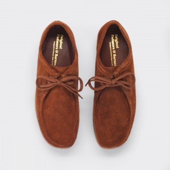 Wallabees Suede : Tabac