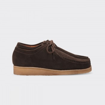 "Original ""Wallabees"" : Dark Brown"