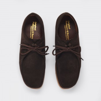 "Original ""Wallabees"" : Marron Foncé"