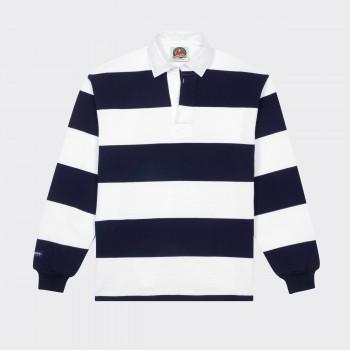 Polo Rugby : Blanc/Marine