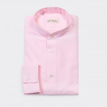 Oxford Band Collar: Pink
