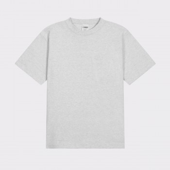 Pocket T-shirt : Heather Grey