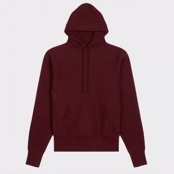 Sweatshirt Capuche : Rouge Harvard