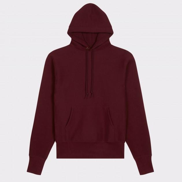 Sweatshirt Capuche : Rouge Harvard