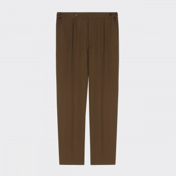 """""""Easy Pants""""Cavalry Twill : Olive"""