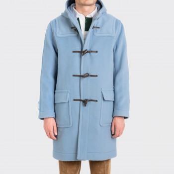 Duffle Coat: Bleu Poudré