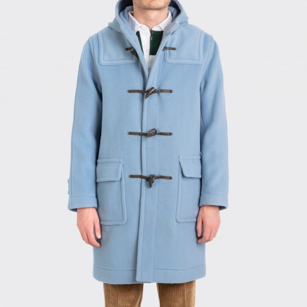 super cheap compares to quality first look for Duffle Coat : Powder Blue - Beige Habilleur